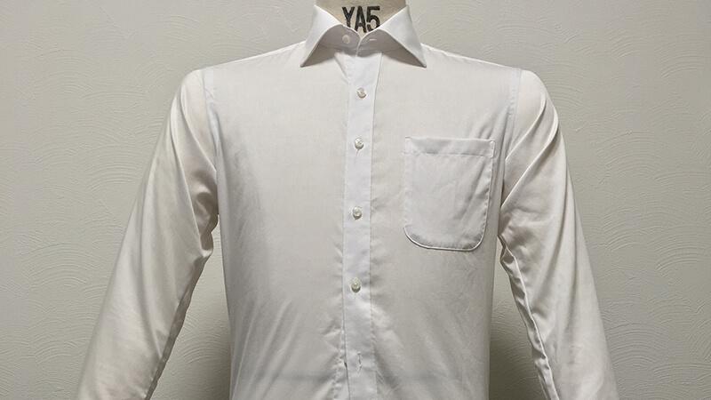 ORIHICAの形態安定シャツを天日吊り干しで乾燥