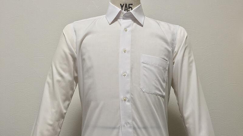洋服の青山の形態安定シャツをアイロンいら~ずの温風で乾燥