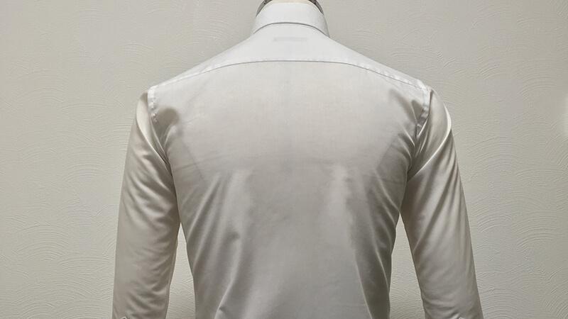 SUIT SELECTの形態安定シャツをアイロンいら~ずの温風で乾燥