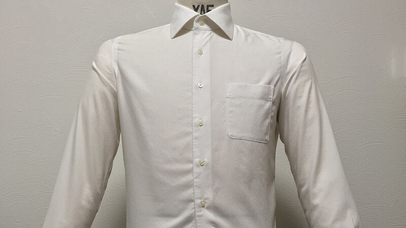 THE SUIT COMPANYの形態安定シャツをガス乾燥器でタンブル乾燥