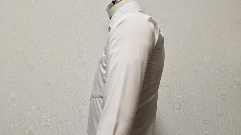 SUIT SELECTの形態安定シャツをガス乾燥器でタンブル乾燥