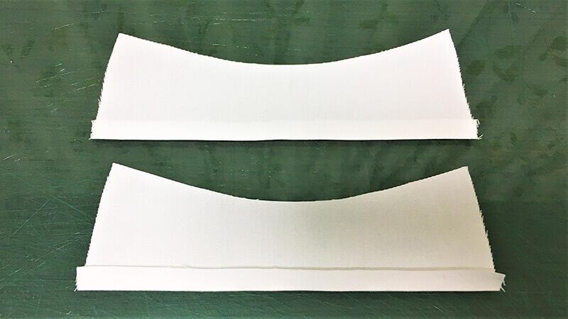 パロットマスクCの下準備の写真2-2