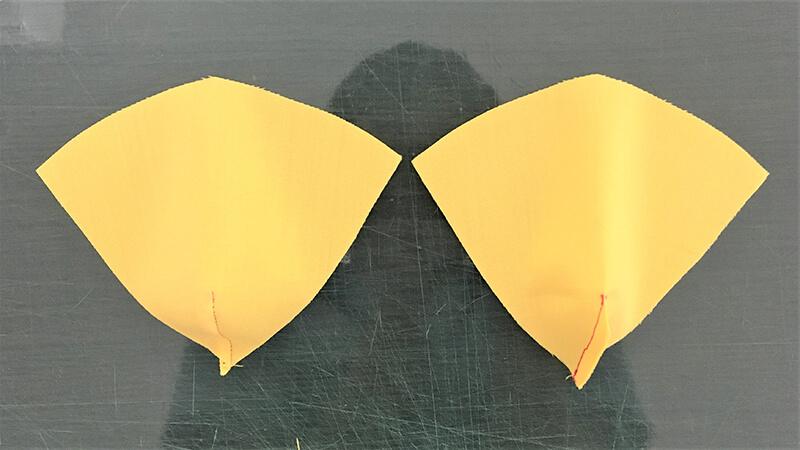 パロットマスクAのパーツ整形の写真3-4