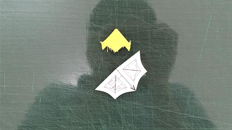 パロットマスクAのパーツ整形の写真3-5-2