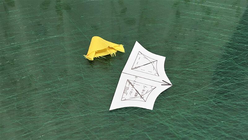 パロットマスクAのパーツ整形の写真3-5-3